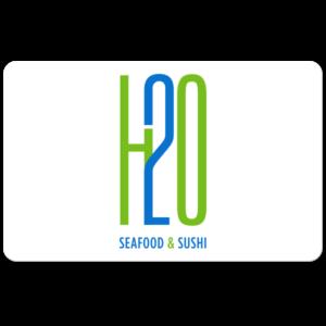 H2O Gift Card