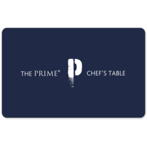 Prime Chef's Table